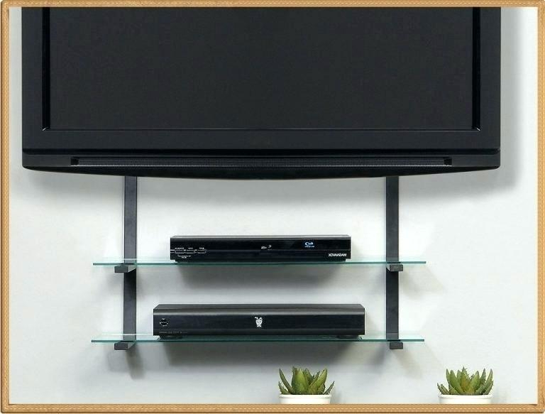 Well Known Mounted Tv Stand Wall Hanging Stand Wall Mount Stand Wall Mount Inside Wall Mounted Tv Stands With Shelves (View 18 of 20)