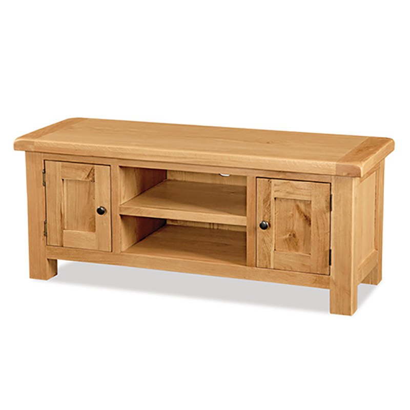 "Well Known Oak Furniture Tv Stands Inside Salisbury Oak Large Tv Stand, Up To 53"" (Gallery 11 of 20)"