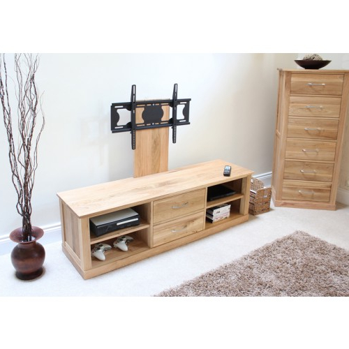 Well Known Oak Tv Stands For Flat Screens For Mobel Oak Flat Screen Tv Stand With Mount (View 13 of 20)