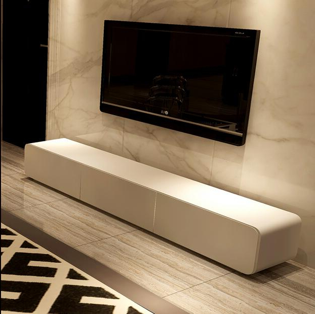 Well Known Paint Modern Minimalist Living Room Tv Cabinet Tv Stand Combination Throughout Cheap Wood Tv Stands (View 13 of 20)