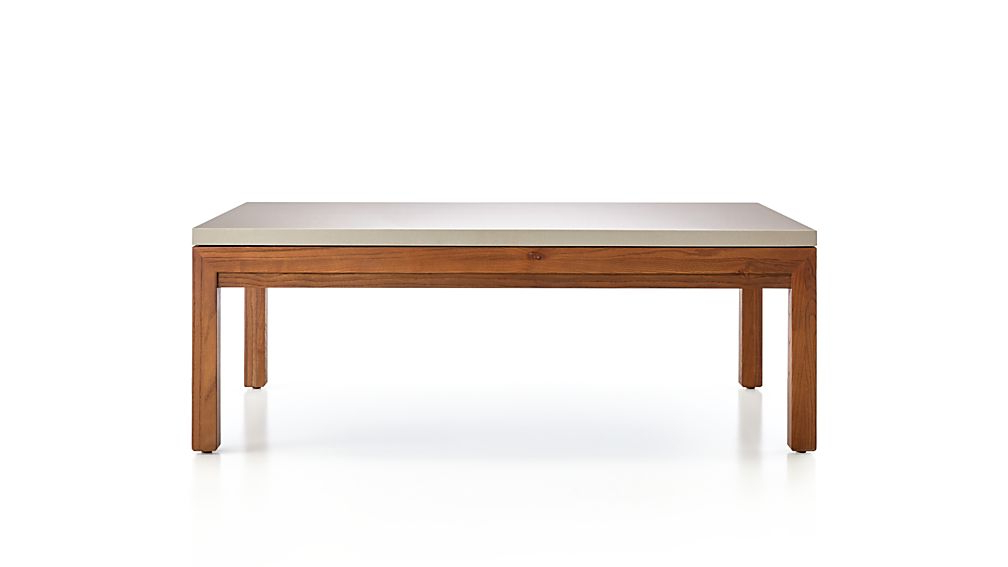Well Known Parsons Walnut Top & Brass Base 48X16 Console Tables In Parsons Grey Solid Surface Top/ Elm Base 48X28 Small Rectangular (View 20 of 20)
