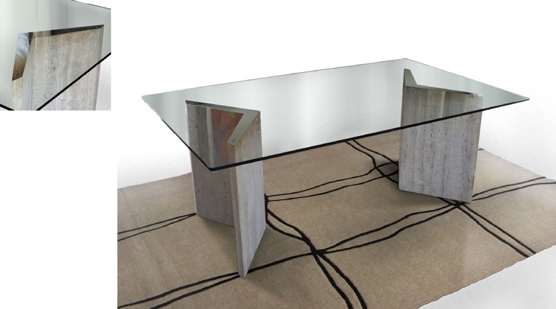 Well Known Parsons White Marble Top & Stainless Steel Base 48X16 Console Tables Inside Parsons Clear Glass Top Dark Steel Base 48X16 Console Reviews With (View 19 of 20)