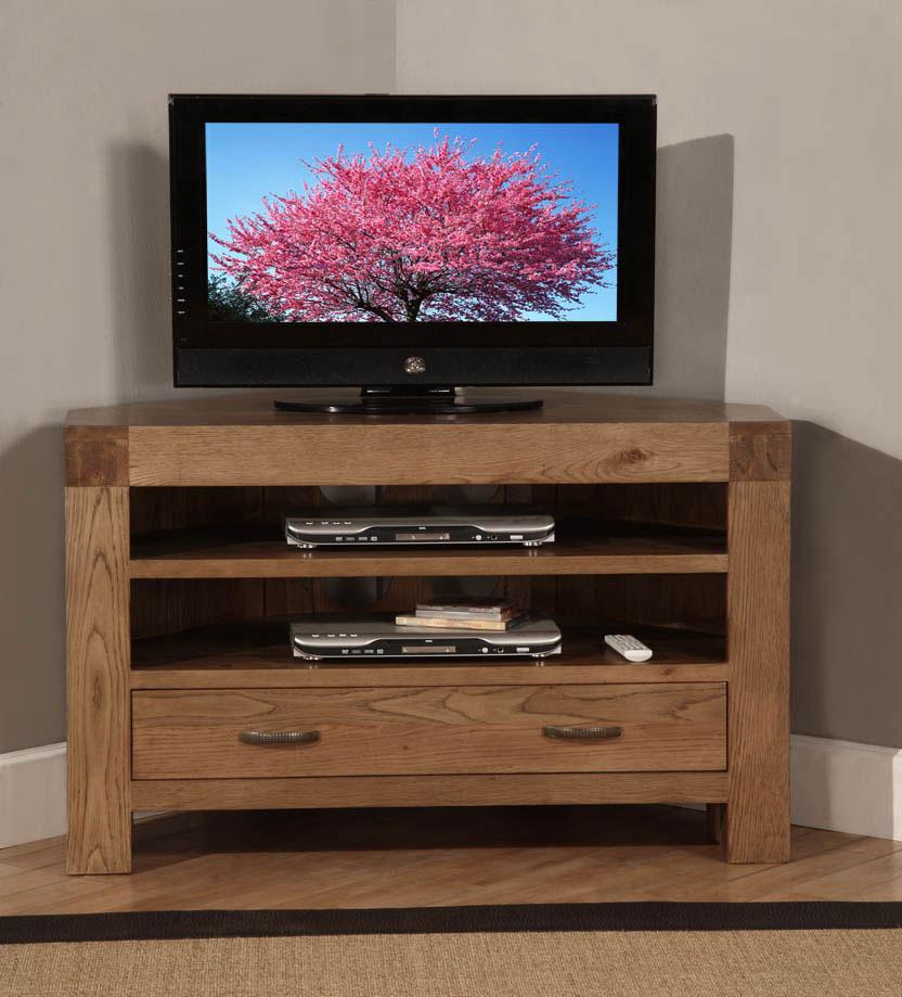 Well Known Santana Oak Tv Furniture In Santana Oak Corner Tv Cabinet (View 19 of 20)