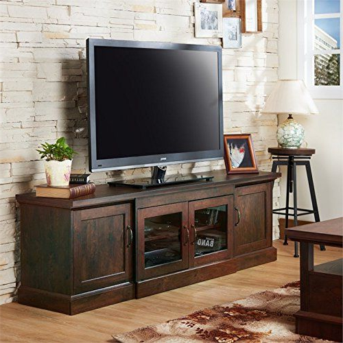 Well Known Sinclair Grey 64 Inch Tv Stands With Regard To Furniture Of America Margot  (View 20 of 20)