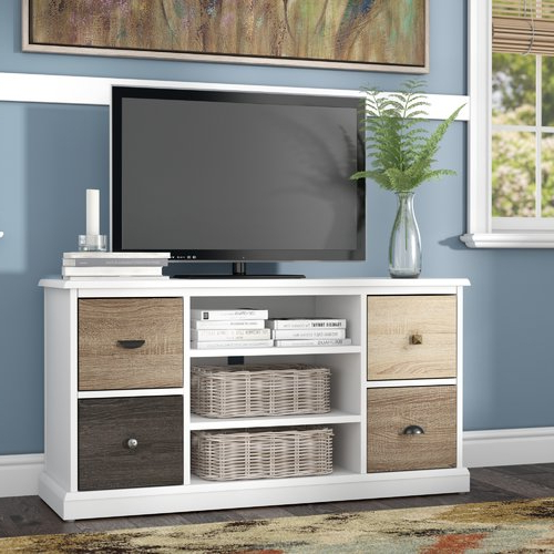 """Well Known Snowy Mountain Tv Stand For Tvs Up To 50"""" (View 19 of 20)"""