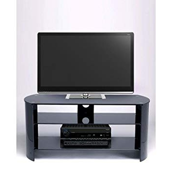 Well Known Stil Stand Bow End Tv Stand – Light Oak: Amazon.co (View 20 of 20)