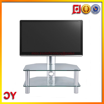 Well Known Stil Tv Stands Intended For Stil Stand Stuk 2052 Clear Glass Tv Stand For Plasma Led Lcd Tv Up (Gallery 6 of 20)