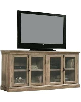 Well Known Tv Stand With Glass Doors – Maineart Inside Wood Tv Stand With Glass (View 14 of 20)