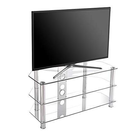 Well Known Universal 24 Inch Tv Stands With Regard To Fitueyes Universal Tv Stand Base For 24 27 32 40 43 46 Inch Samsung (View 6 of 20)