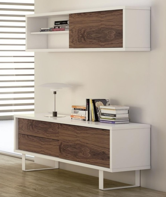 Well Known White And Wood Tv Stands With Regard To 12 Modern Tv Stand Design Ideas Fit For Any Home (View 18 of 20)
