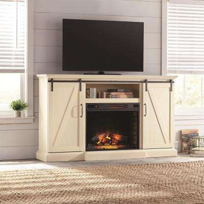 Well Known White – Rustic – Fireplace Tv Stands – Electric Fireplaces – The Pertaining To White Rustic Tv Stands (View 15 of 20)