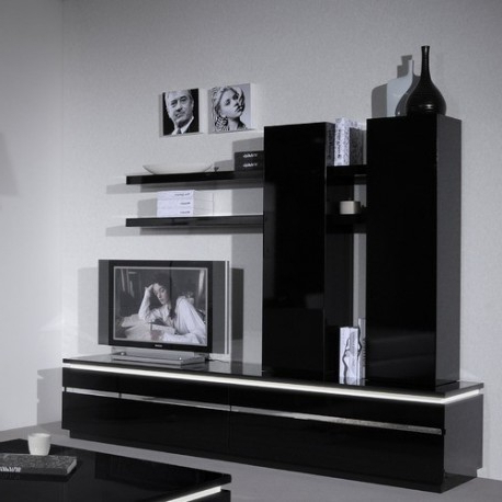 Well Liked Black Gloss Tv Stands With Orde Black Gloss Tv Stand – Tv Stands (1332) – Sena Home Furniture (Gallery 12 of 20)