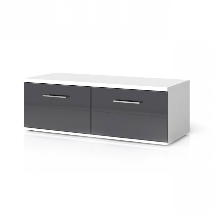 Well Liked Black Tv Cabinets With Drawers Pertaining To Avila 2 Drawers Tv Stand (View 17 of 20)