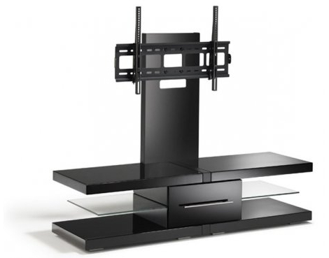 "Well Liked Echo Tv Units For Echo Black Cantilever Tv Unit For Tvs Up 60"" (Gallery 7 of 20)"