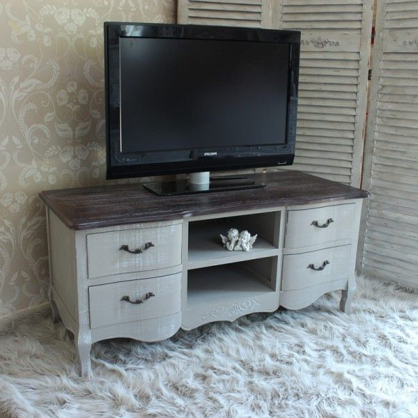 Well Liked French Tv Cabinets Within French Grey Range – Grey Tv Cabinet Unit (View 20 of 20)