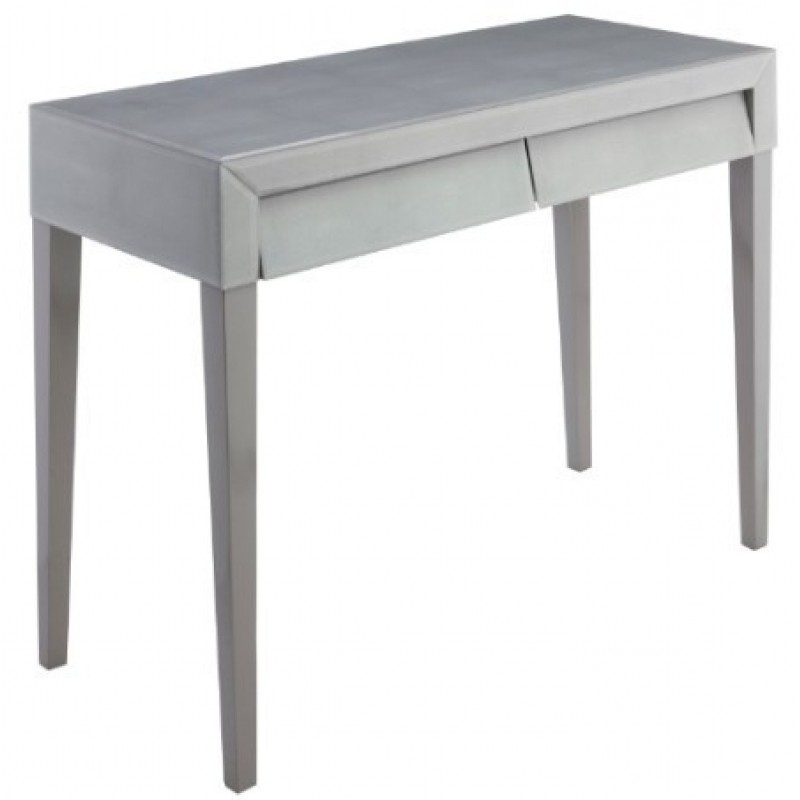 Well Liked Grey Shagreen Media Console Tables In Soft Grey Shagreen Console (Gallery 12 of 20)