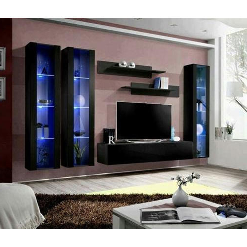 Well Liked Led Tv Cabinets Pertaining To Wooden Designer Led Tv Cabinet, लकड़ी के टीवी की (Gallery 2 of 20)