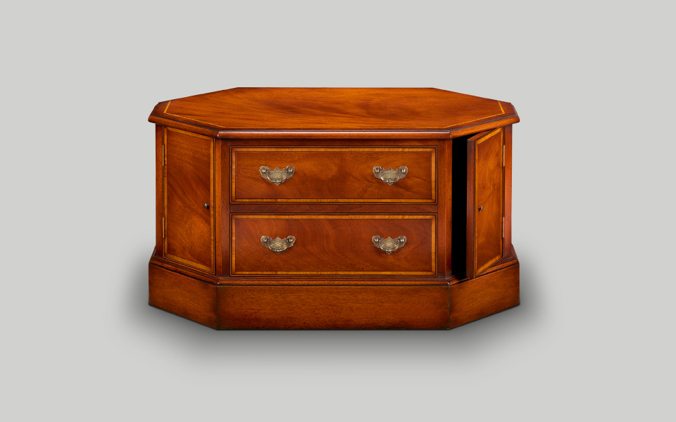 Well Liked Mahogany Tv Cabinets Regarding English Reproduction Tv Cabinets (View 5 of 20)