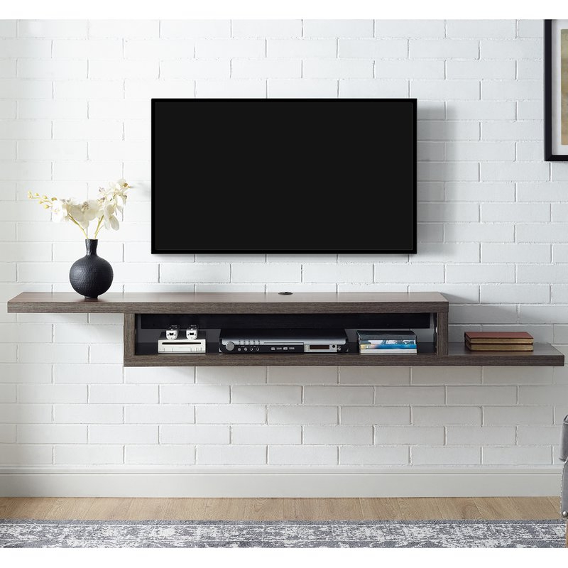 "Well Liked Martin Home Furnishings Ascend 60"" Asymmetrical Wall Mounted Tv Within Wall Mounted Tv Racks (View 20 of 20)"