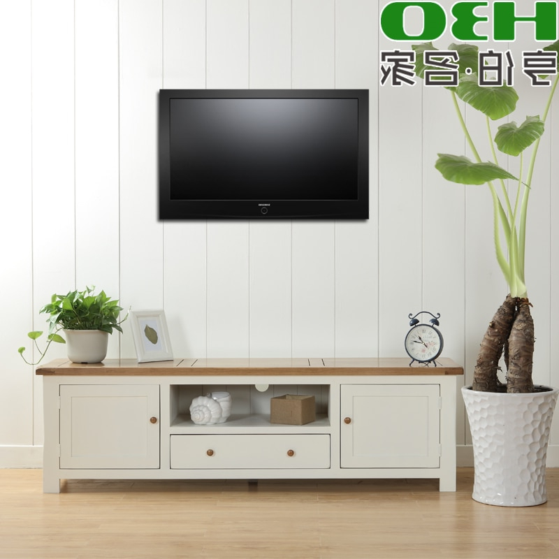 Well Liked Oak Tv Cabinets Pertaining To Solid Wood Furniture / Living Room Tv Cabinet / Wood Tv Cabinet (View 12 of 20)