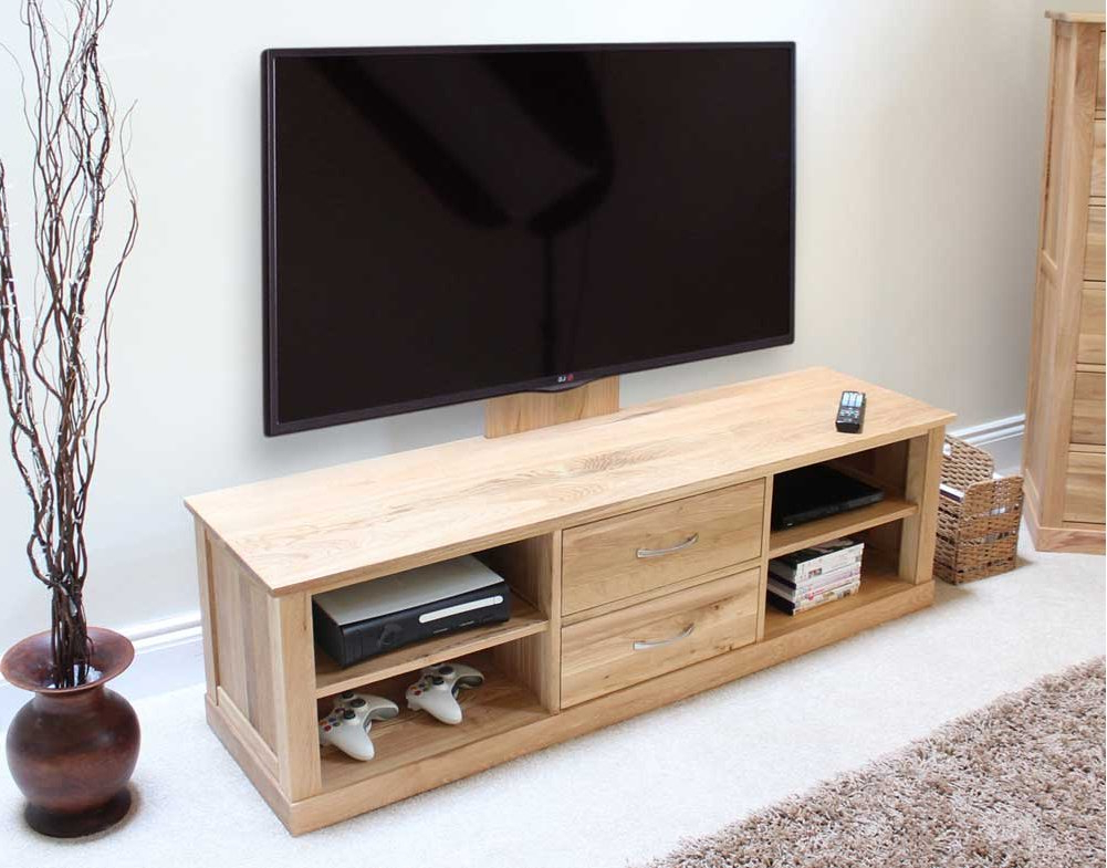 Well Liked Oak Widescreen Tv Units Intended For Mobel Oak Widescreen Tv Cabinet (View 20 of 20)
