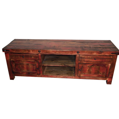 Well Liked Rustic Red Tv Stands Throughout Million Dollar Rustic Tv Stands Red Rubbed Tv Stand 09 2 56 55  (View 20 of 20)
