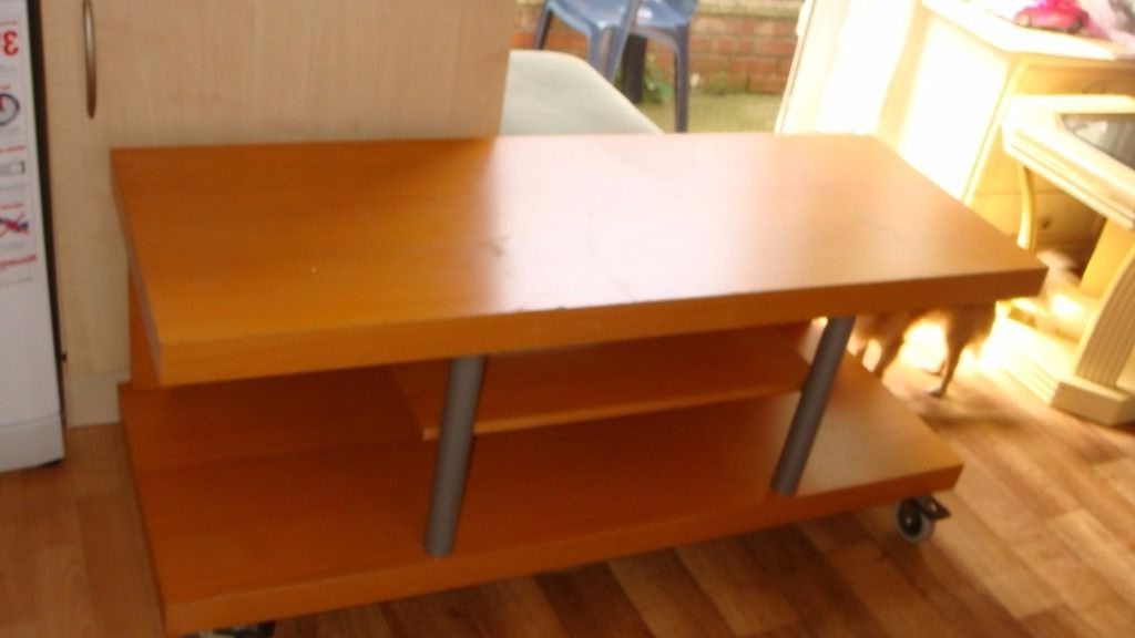 Well Liked Small Tv Stands On Wheels With Regard To Tv Stand On Wheels 32 Inch 42 Inch 50 Inch 55 Inch Tv (View 6 of 20)