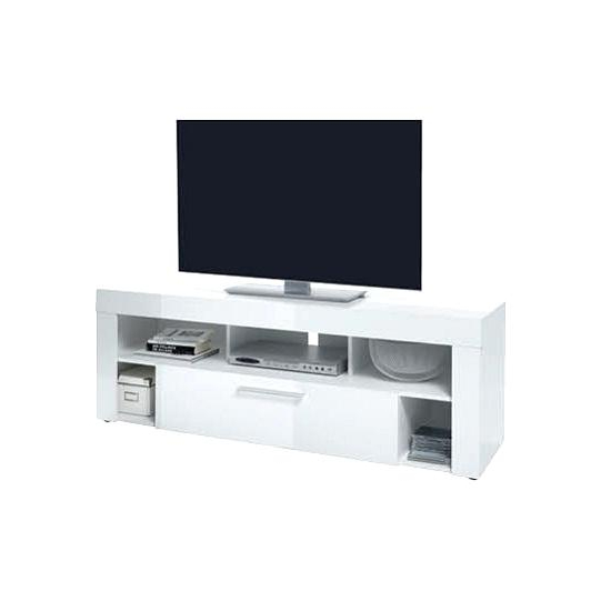 Well Liked Small White Tv Stand Great Excellent Elite High Gloss Stands With In With Regard To Small White Tv Stands (View 17 of 20)