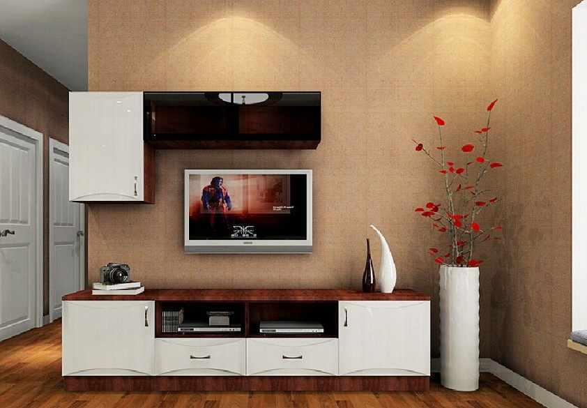 Well Liked Stylish Tv Cabinets Intended For Beautiful Stylish Lcd Cabinet Design And Flower Vase Id973 – Lcd Tv (View 7 of 20)