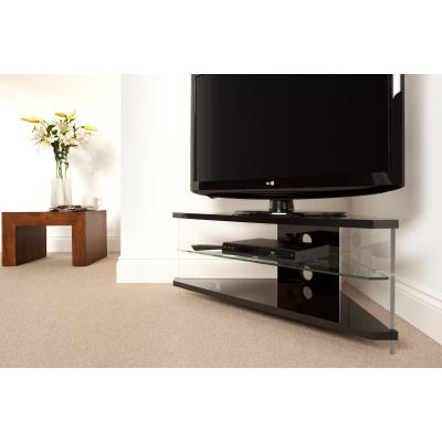 Well Liked Techlink Ai110bc Air Corner Tv Stand For Up To 46 Inches – Planet Gizmo Within Techlink Air Tv Stands (View 13 of 20)