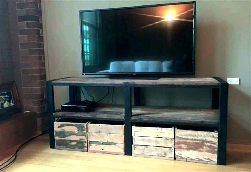 Well Liked Tv Stand With Baskets – Radiovida (View 17 of 20)