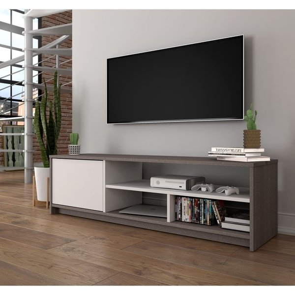 Well Liked Tv Stands For Small Spaces Regarding Shop Bestar Small Space  (View 20 of 20)