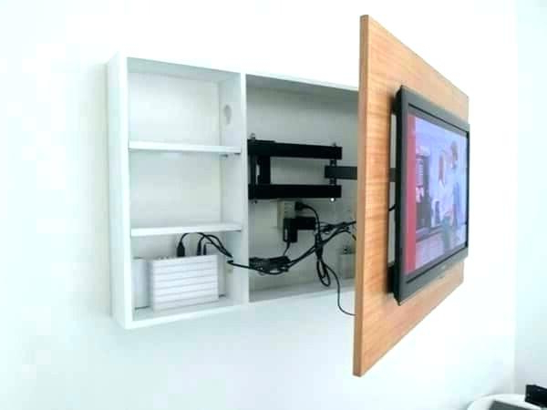 Well Liked Wall Mount Cabinet For Flat Screen Tv Flat Screen Wall Mount Wall With Regard To Wall Mounted Tv Cabinets For Flat Screens With Doors (Gallery 8 of 20)