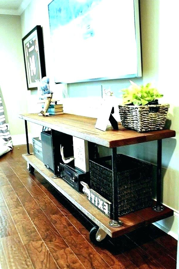 Well Liked What To Put Under Mounted Tv Table Under Mounted Mid Sized Regarding Console Tables Under Wall Mounted Tv (View 20 of 20)