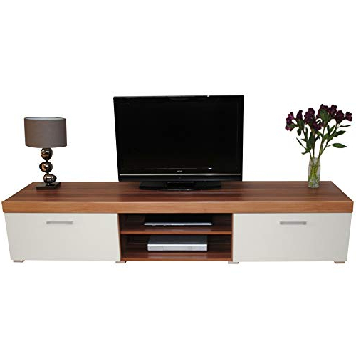 Well Liked Widescreen Tv Cabinets Intended For Wide Tv Unit: Amazon.co (View 19 of 20)