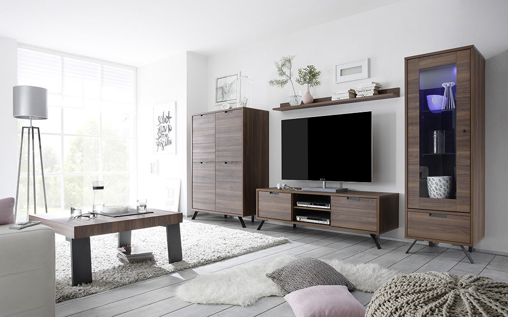 Wenge Tv Cabinets Inside Preferred Contemporary Tv Cabinet / Oak / Walnut / Wenge – Palma – Lc Spa (View 16 of 20)
