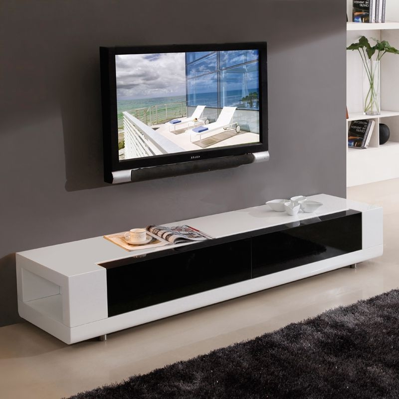 "White Contemporary Tv Stands With Widely Used Incredible And B Modern Editor 79"" Contemporary Tv Stand In High (Gallery 11 of 20)"