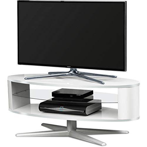 White Gloss Corner Tv Stands Regarding 2018 White Gloss Corner Tv Units: Amazon.co (View 13 of 20)