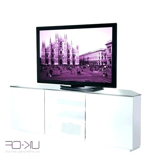 White Gloss Oval Tv Stands In 2018 Small White Corner Tv Stand Corner White Stand White Corner Stand (View 13 of 20)