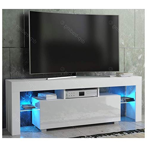 White High Gloss Tv Unit: Amazon.co (View 14 of 20)