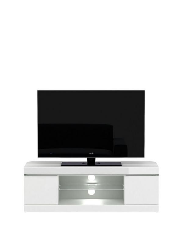 White In Latest Corner Tv Unit White Gloss (View 14 of 20)