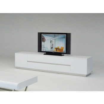 White – Oak – Modern Entertainment Centers – Durable Tv Stands And With Current Contemporary White Tv Stands (View 18 of 20)