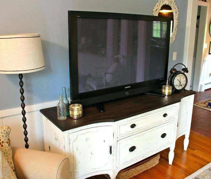 White Painted Tv Cabinets Intended For Current Painted Tv Stand – Anyoldletters.co.uk (Gallery 7 of 20)