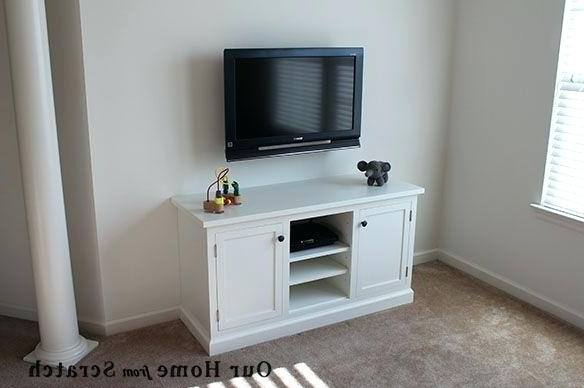 White Painted Tv Cabinets Within Best And Newest Terrific Painted Tv Cabinets Small Cabinet Painted Oak Corner Tv (Gallery 2 of 20)