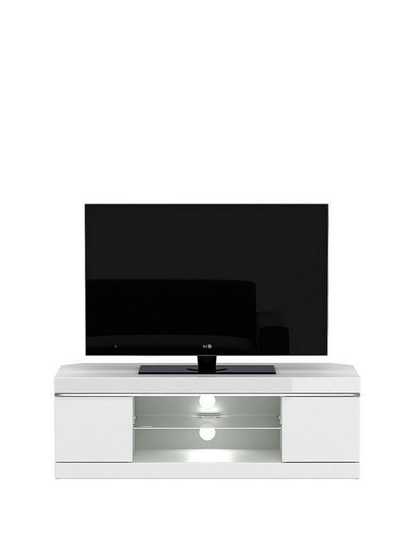 White Regarding Favorite White High Gloss Corner Tv Unit (View 14 of 20)