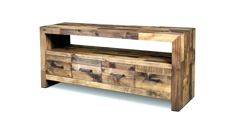 White Rustic Tv Stands With Famous Rustic Tv Console – Mixedemotions (Gallery 4 of 20)