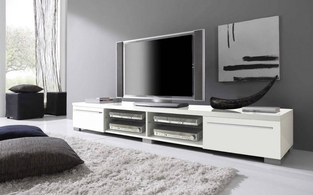 White Tv Stand Target Ikea Hemnes Cabinet With Doors Long Bayside Within Best And Newest Long White Tv Stands (View 20 of 20)