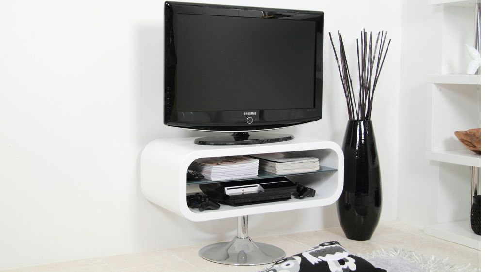 White Tv Stands, Small Tv (View 20 of 20)