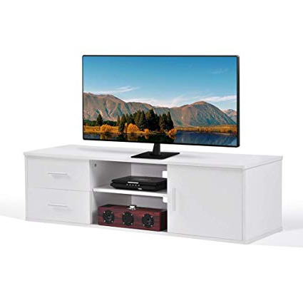 White Wood Tv Stands For Most Current Amazon: Ej (View 14 of 20)