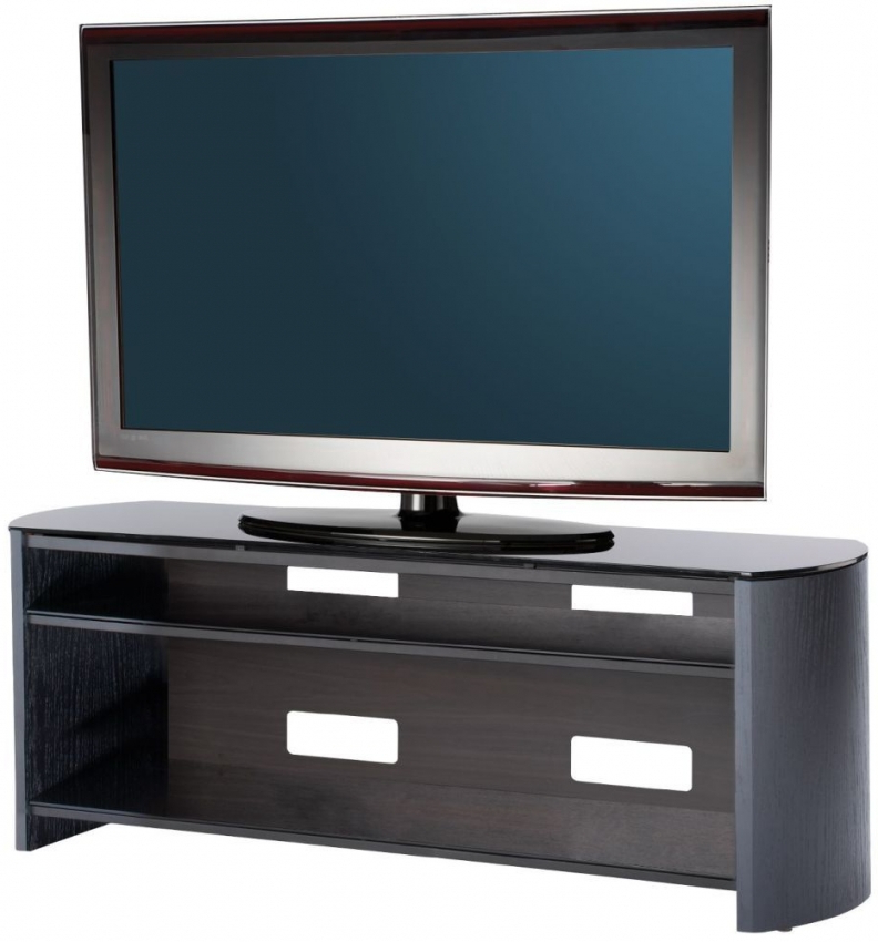 Wide Oak Tv Units With Regard To Fashionable Buy Alphason Finewood Black Oak Tv Unit For 58Inch – Fw1350 Online (View 20 of 20)